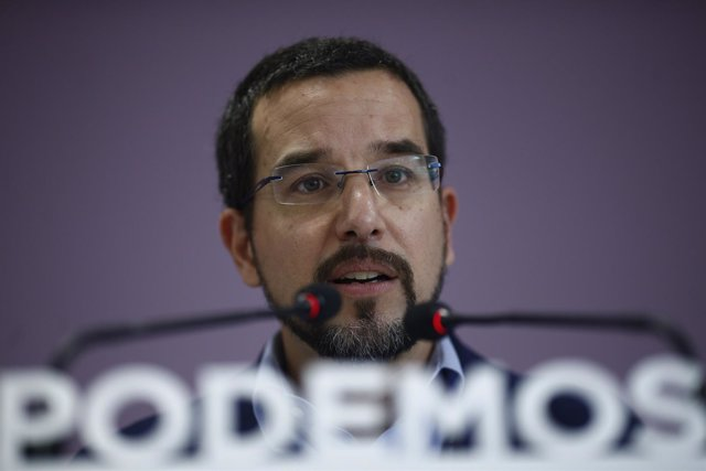 Sergio Pascual, exsecretario de Organización de Podemos
