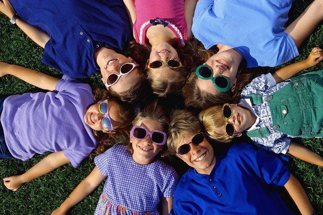 Gafas de sol, niños