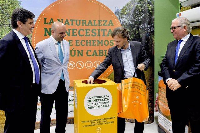 Campaña de recogida de residuos eléctricos