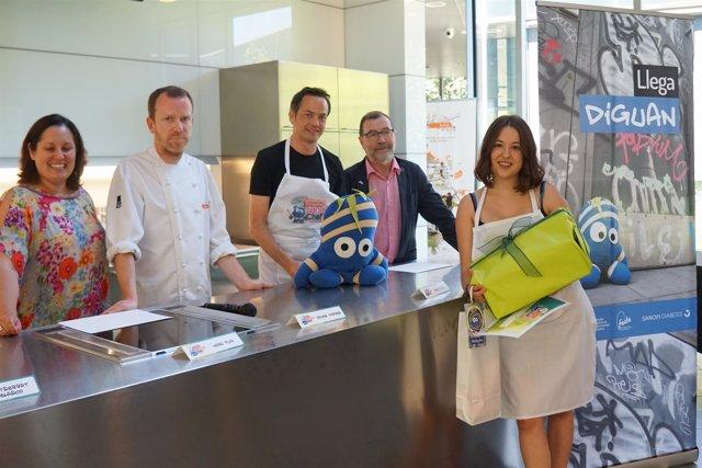Alba Basset gana la primera edición del concurso 'Diguan Diabetes Chef'