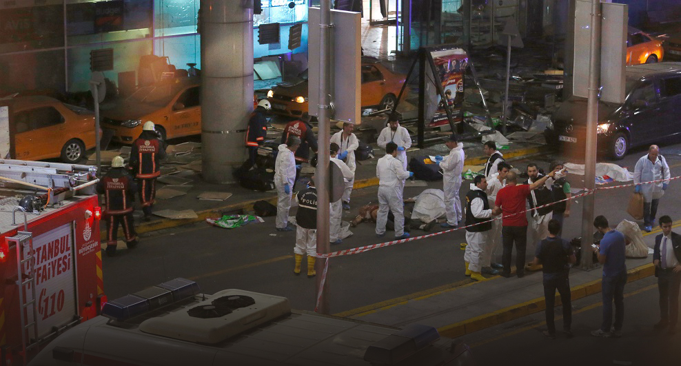 Ataque terrorista en el Aeropuerto de Estambul