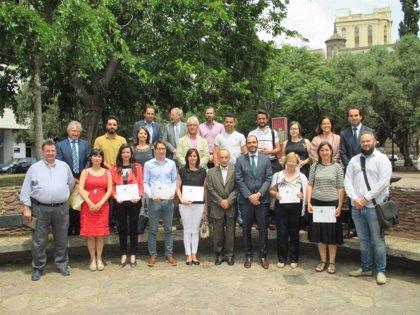 Una veintena de compañías concluyen el I Plan de Empresa Familiar de Aragón