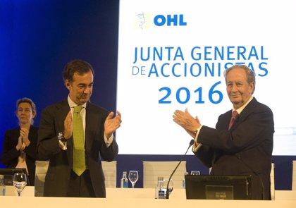 OHL se deja un 7,7% en Bolsa tras vender la mitad de su participación en Abertis