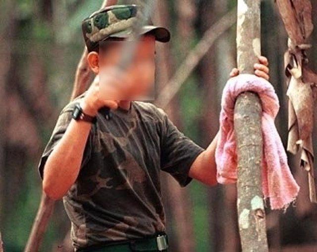 Reclutamiento infantil en las FARC