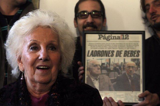 Presidenta de Abuelas Mayo, Estela de Carlotto