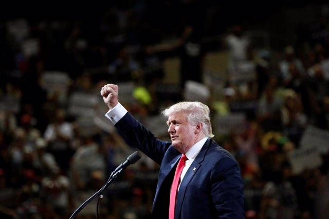 Donald Trump, precandidato republicano a la Presidencia de Estados Unidos