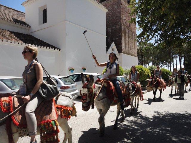 Costa del Sol, turismo, turistas, Mijas