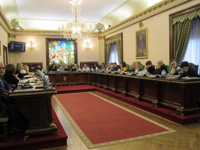 Pleno del Ayuntamiento de Pamplona