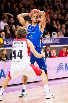 Betinho Gomes con el MoraBanc Andorra