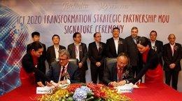 Acuerdo entre Telefónica y Huawei sobre el 5G