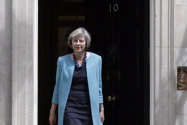 La ministra del Interior británica, Theresa May