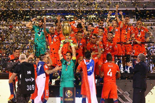 Chile gana Copa América