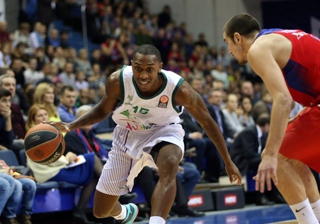 CSKA Moscow vs. Unicaja Malaga, Jamar Smith.