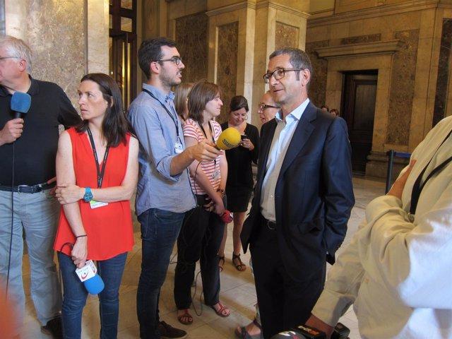 El diputado del PSC Jordi Terrades
