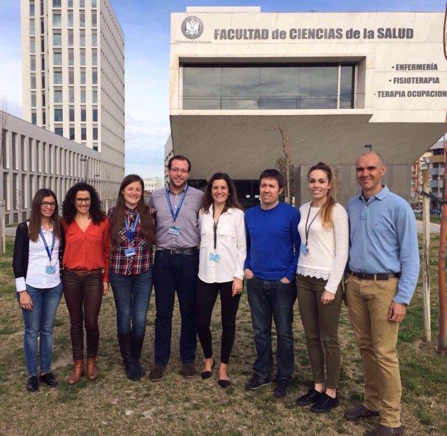 El equipo de científicos de la Universidad de Granada que realiza este trabajo