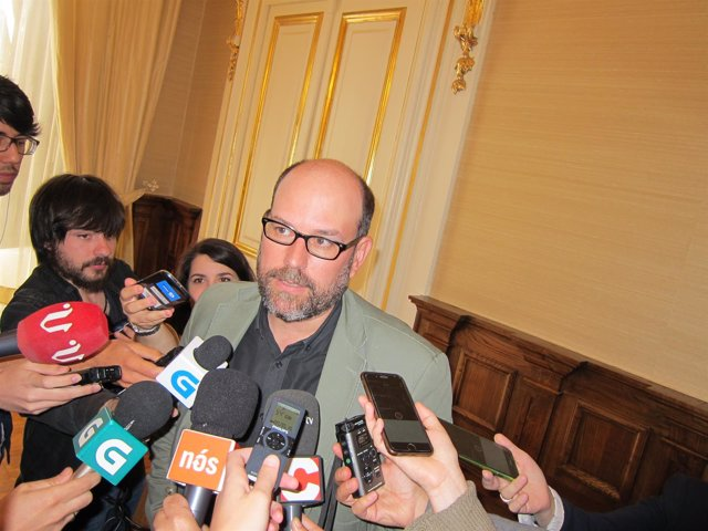 El alcalde de Santiago, Martiño Noriega, analiza los resultados del 26J