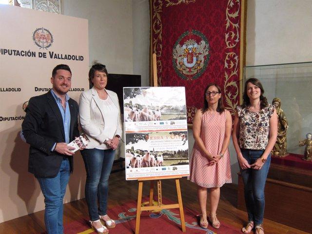 Presentación dwe la feria 'Tierra y Oveja' de Mayorga de Campos (Valladolid)