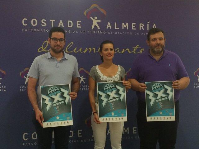 La Copa de Baloncesto 3x3 'Costa de Almería' recorrerá la provincia este verano.
