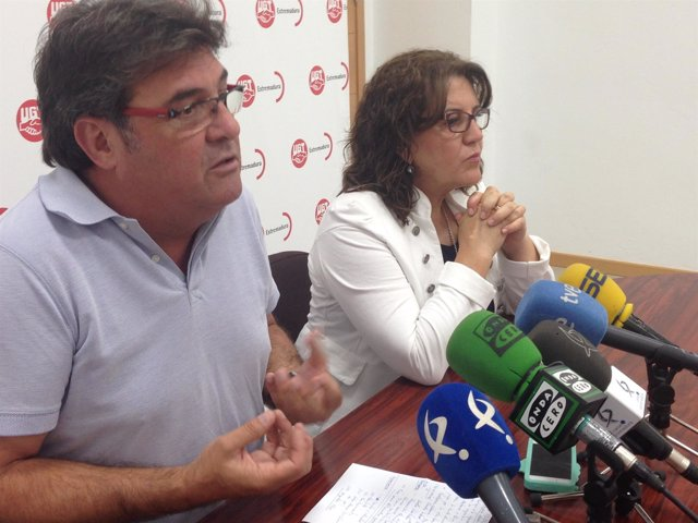 Julián Carretero y Patrocinio Sánchez