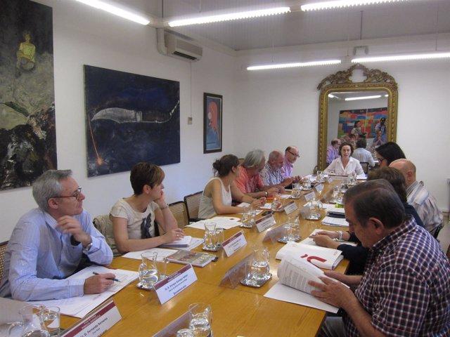 Gamarra preside la reunión del Grupo contra la Pobreza Energética