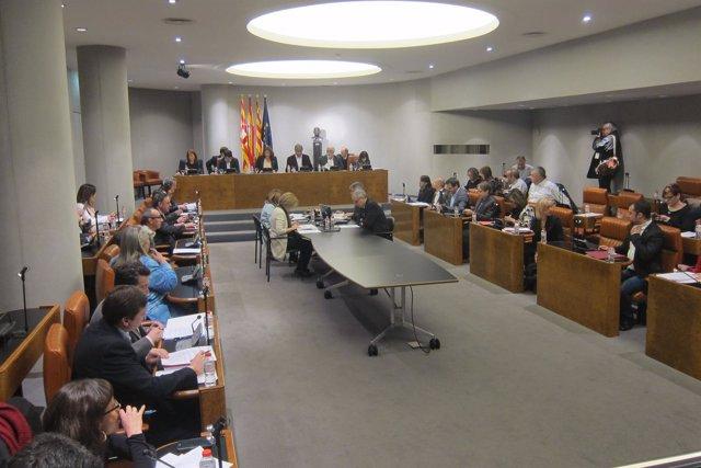 Pleno de la Diputación de Barcelona