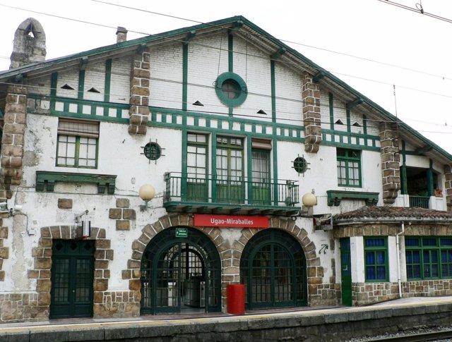 Estación de Ugao-Miraballes