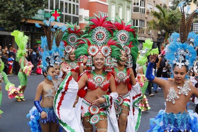 Cabalgata infantil del Carnaval de Las Palmas de Gran Canaria