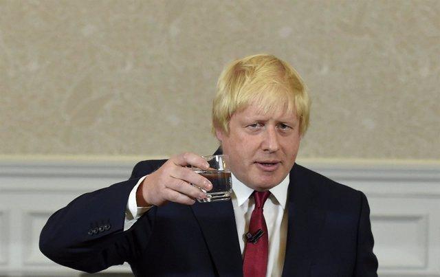 El exalcalde de Londres Boris Johnson