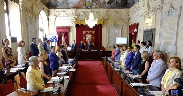 Pleno del Ayuntamiento de Málaga junio