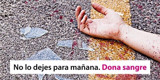 Campaña para donación de sangre