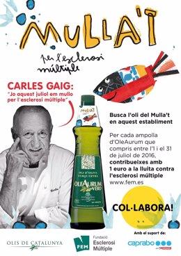 Caprabo y Olis de Catalunya vuelven a mojarse por la esclerosis múltiple
