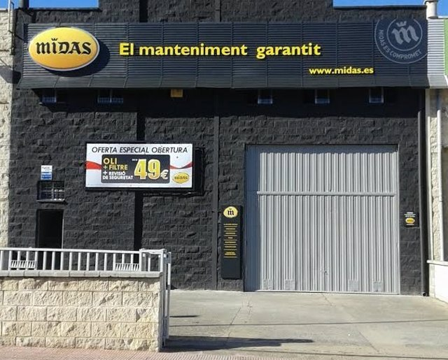 Nuevo centro de Midas en Martorell (Barcelona)