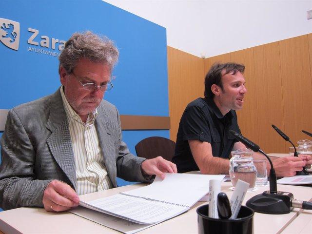 Ricardo Usón y Pablo Muñoz