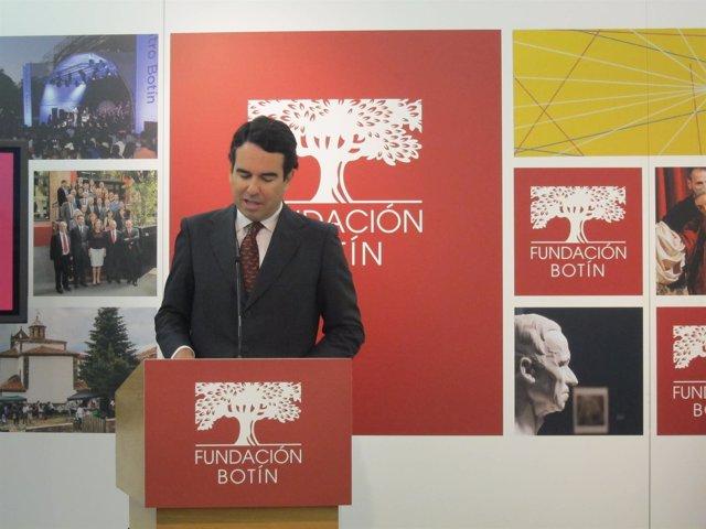 El presidente de la Fundación Botín, Javier Botín