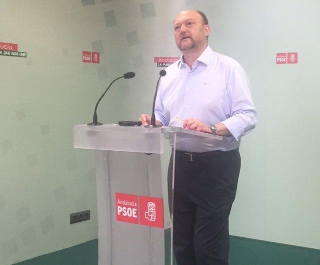 El secretario de Política Federal del PSOE, Antonio Pradas