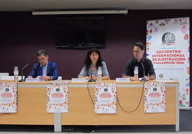 Presentación de la II Edición de 'Vilustrado' en Valladolid