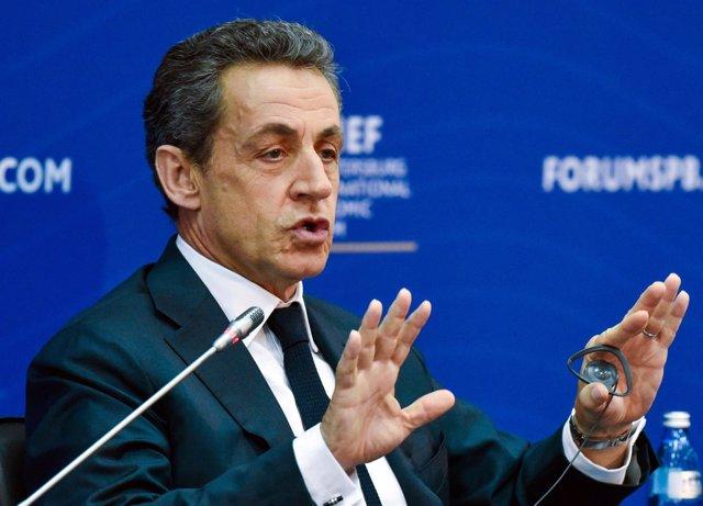 El expresidente francés Nicolas Sarkozy