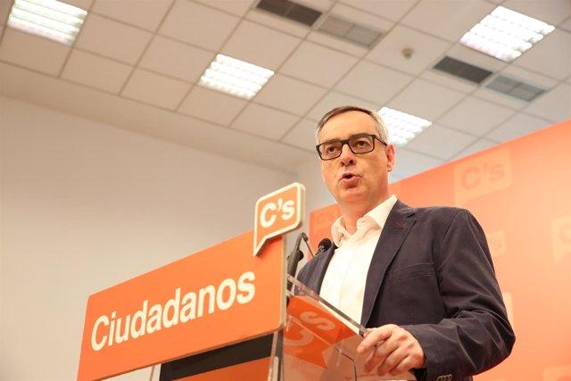 Rueda de prensa de José Manuel Villegas