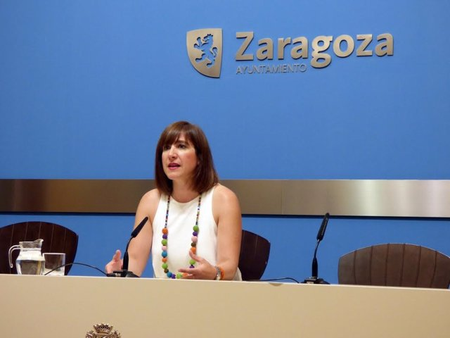 La portavoz de C's en Zaragoza, Sara Fernández