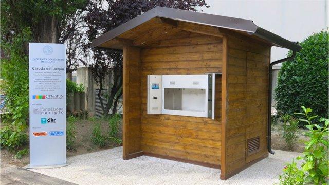 Modelo de Casa del Agua en Milán
