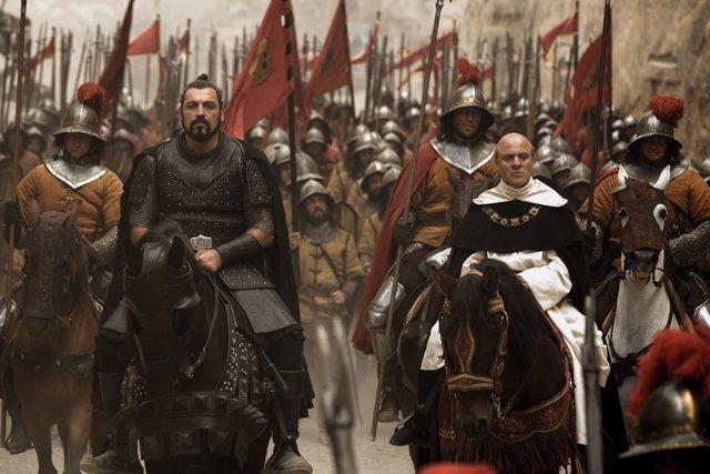 Avier Gutiérrez y Hovik Keuchkerian en Assassin's Creed