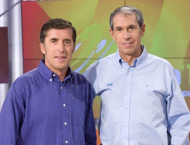 Tour de Francia con Perico Delgado y Carlos de Andrés