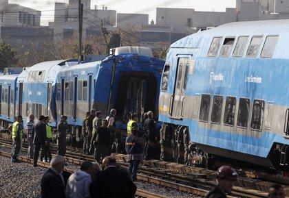 Un choque de trenes en Argentina deja 20 heridos