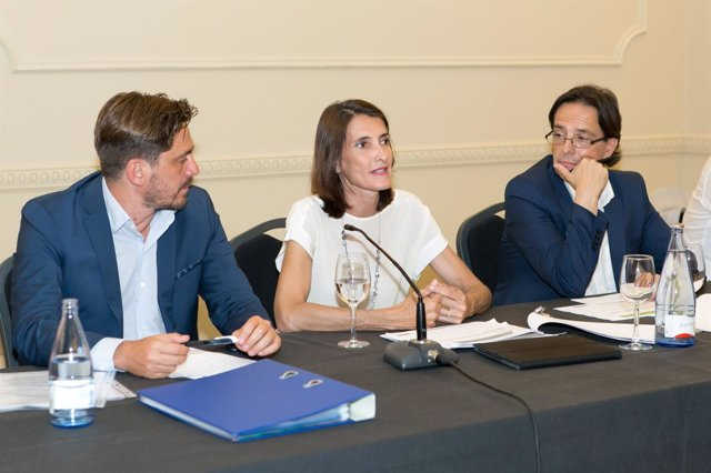Jorge Marichal, María Teresa Lorenzo y Cristóbal de la Rosa