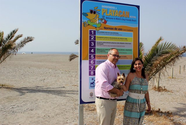 Playa para perros en Motril (Granada)