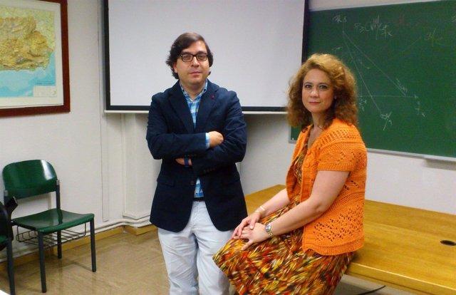 Los profesores de la US José Ignacio castillo y Mercedes Castro