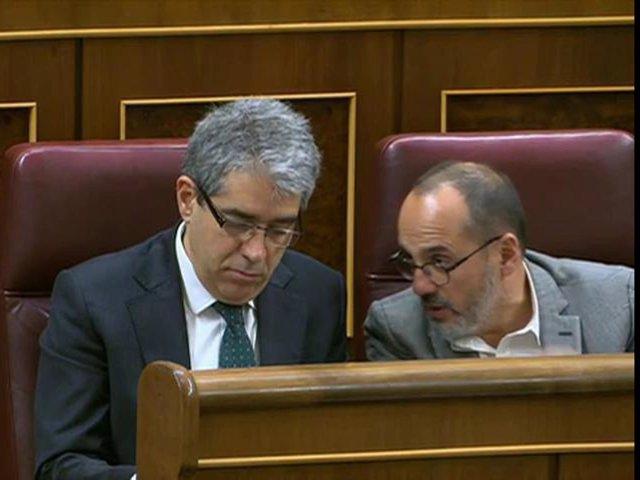 Francesc Homs y Carles Campuzano