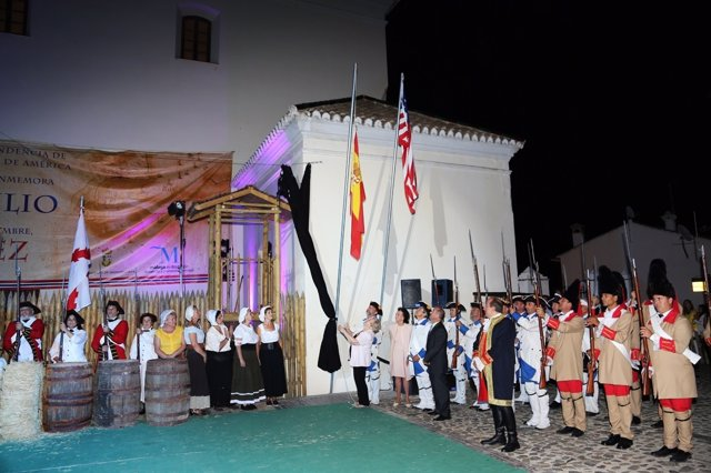 Macharaviaya Recrea La Gesta De Bernardo De Gálvez Que Entregó La Independencia