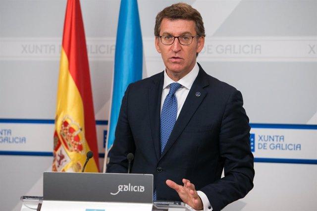 12,00 h.-  Alberto Núñez Feijóo comparecerá en rolda de prensa para dar conta do