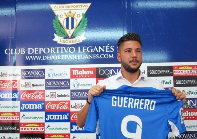 Miguel Ángel Guerrero, nuevo jugador del Leganés